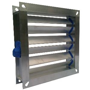 Type A - Flanged Multi Leaf Volume Control Damper