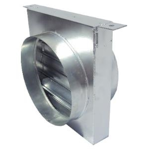 100mm Dia  Type C  Fire Damper  Hanging Cleats
